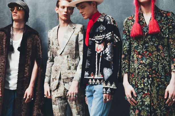 3f6f1d339be8a Backstage at Gucci Mens Fall Winter 2016 2017