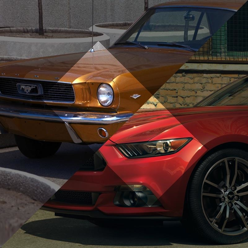 Ford Mustang Marks 50 Years With New Design, Innovative