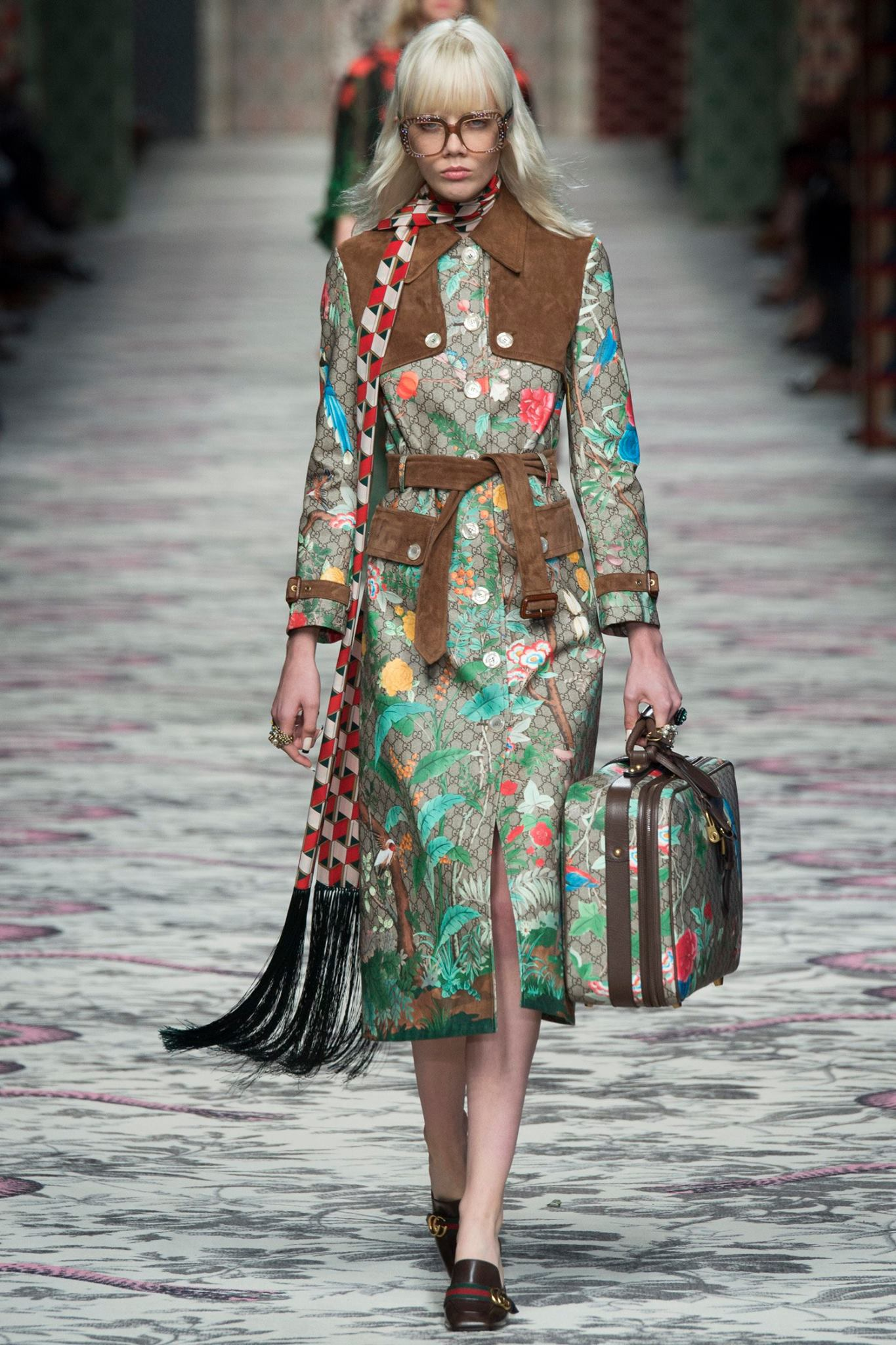 Gucci Spring Summer 2016 Sees The Glorious Blossoming Of