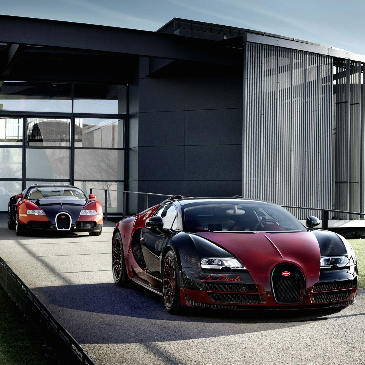 Bugatti Veyron Spoiler: Grand Sport Vitesse La Finale Is Farewell Model For