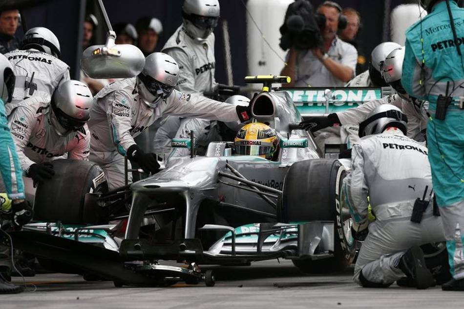The secret tyre test in which Mercedes took part could cost them a £6.6 million fine and the loss of 50 points, which effectively kill off their championship ambitions for the 2013 season