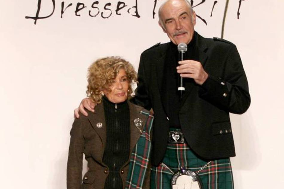 Sir Sean CONNERY at Dressed to Kilt