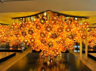 The COMET LAMP by VEUVE CLICQUOT
