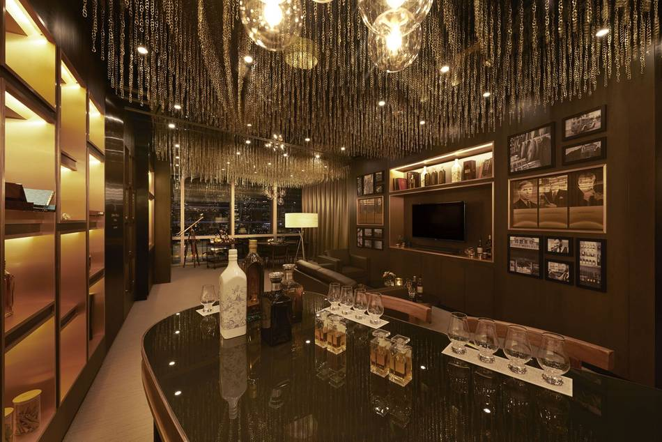 The first of its kind in Southeast Asia, the luxury Scotch whisky embassy provides an exclusive environment with the rarest blends and single malt Scotch whiskies from Diageo