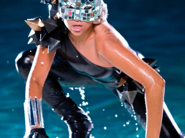 "Lady GaGa promo for ""Poker Face"""