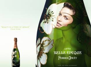 Rie is the modern-day muse and the ambassador for its prestige cuvée, Fleur de Champagne