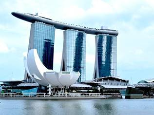 The grand opening of Marina Bay Sands including the launch of the world's first ArtScience Museum