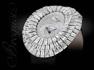 Breguet High Jewellery displays stunning boldness in the design of contemporary gem-set pieces