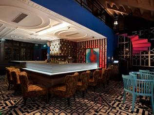 Yucca Lounge in Shanghai, China is a cocktail lounge with modern Mexican feel