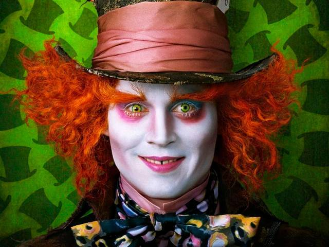Alice in Wonderland - Johnny DEPP as the MadHatter