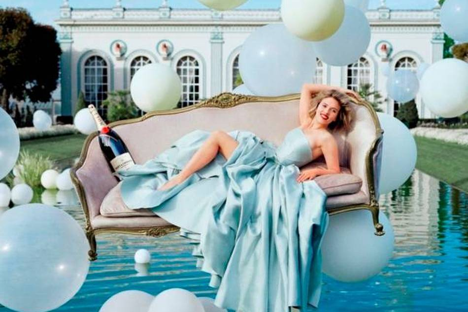 Moët & Chandon announced a new international advertising campaign featuring Scarlett Johansson,