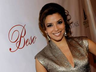 Eva Longoria Parker hosted a private party at her new latin restaurant, Beso, located in Crystals