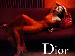 Dior's Lady Rouge campaign photographed by Annie Liebovitz