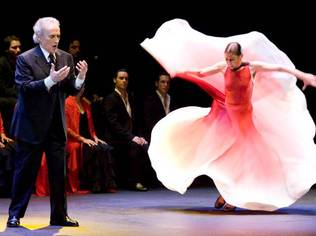 To celebrate its 150th anniversary, Chopard invited José Carreras and Sara Baras to perform
